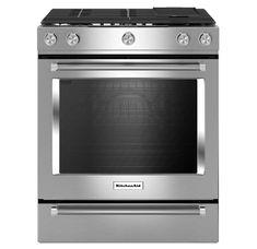 KitchenAid KSDB900ESS 30 Inch Wide 7.1 Cu. Ft. | Build.com Four A Convection, Convection Cooking, Kitchenaid, Cleaning Oven Racks, Slide In Range, Food Temperatures, Kitchens, Fan, Cleaning