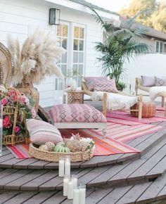 Design Patio, Outdoor Patio Designs, Outdoor Spaces, Patio Ideas, Backyard Ideas, Outdoor Rugs, Outdoor Living, Garden Ideas, Outdoor Decor
