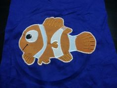 Finding nemo pillow in the works