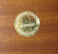BruksboMarkings: markedCountry of Origin & Materials: Norway; on Mar 2014 Makers Mark, Palm Beach, Danish, Mid-century Modern, Bench, Auction, Mid Century, Personalized Items, Table