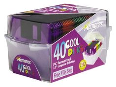 Memorex 3.5 - Inch PC-Formatted High-Density Floppy Disks...