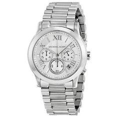 Michael Kors MK6273 Armbanduhr Silber Chronograph Edelstahl   eBay