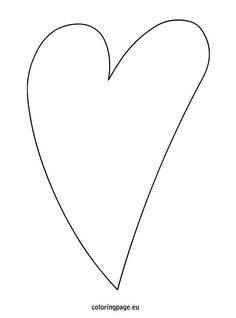 Molde De Corazon Para Imprimir Gratis De Todo Pinterest Heart