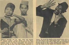 Prince Buster and his wife