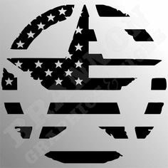 """""""Army Star with Flag Logo"""" Military themed design that can be made into decals, signs, or t-shirts. Cricut Vinyl, Vinyl Decals, American Flag Decal, Flag Logo, Silhouette Cameo Projects, Stencil Art, Vinyl Cutting, Cricut Creations, Vinyl Crafts"""