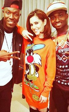 Cheryl Fernandez-Versini wearing a Moschino Sylvester Junior Wool Sweater Dress http://api.shopstyle.com/action/apiVisitRetailer?id=497483581&pid=uid7729-3100527-84&pid=uid7729-3100527-84. #style #celebstyle #cherylcole