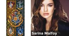 Sarina Malfoy | Harry Potter Life: Golden Trio Generation (Really Long Results)Harry Potter Life: Golden Trio Generation (Really Long Results) Charlottly Sarina Malfoy Name: Sarina Joie Malfoy House: Slytherin Blood Status: Pure-Blood Husband: Draco Malfoy Friends: Slytherin House Enemies: Blaise Zabini Wand: Birch, Dragon Heartstring (Hungarian Horntail), Stiff, 12 3/4 Inches Wand Pattern: Dark brown with ivy carved into it. Best Subject: Defense Against the Dark Arts Patronus: Dragon Your…