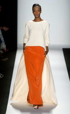 Carolina Herrera Spring 2014 RTW - Runway Photos - Fashion Week - Runway, Fashion Shows and Collections - Vogue Ny Fashion Week, New York Fashion, Look Fashion, High Fashion, Fashion Show, Fashion Design, Fashion Weeks, Fashion Spring, Milan Fashion
