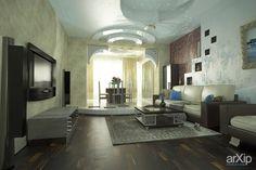 Интерьер первого этажа таунхауса: зd визуализация, интерьер #3dvisualization #interior