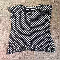 Bundle! Magenta top. Black and white top. Swallow too with damage as shown. Willi Smith Tops Blouses