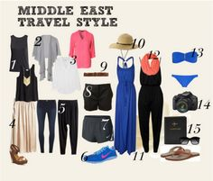 What to Wear When Visiting the Middle East -- Middle East Travel Style #israel #jordan #palestine