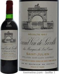 Chateau Leoville Las Cases 2eme GCC St. Julien 1982  Bottle 1£ 354.00  Bottle 2£ 354.00