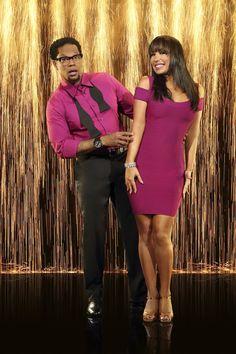 Cheryl Burke & D.L. Hughley  -  Dancing With the Stars  - Season 16  -  spring 2013