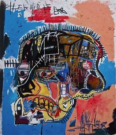Jean-Michel Basquiat, Untitled, Acrylic and mixed media on canvas, 81 x in. Jean-Michel Basquiat Estate / Artists Rights Society Jm Basquiat, Jean Michel Basquiat Art, Basquiat Artist, Basquiat Prints, Arte Pop, Andy Warhol, Banksy, Basquiat Paintings, Art History
