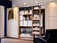 Lovely M bel Basics Erweiterbar Schranksystem Pax von Ikea