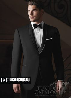 Black 'Waverly' Tuxedo from http://www.mytuxedocatalog.com/catalog/rental-tuxedos-and-suits/C1008-Black-Waverly-Slim-Tuxedo/