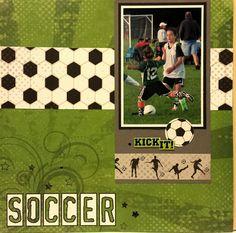 Soccer in action - Scrapbook.com