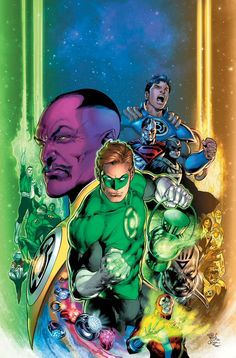 DC's revamped timeline kicks off in Generation One, the Joker War ignites and Dark Nights: Death Metal strikes a chord in DC's May 2020 releases. Green Lantern Hal Jordan, Green Lantern Corps, Green Lanterns, Jim Lee, Dc Comics, Original Green Lantern, Kyle Rayner, Alien Races, The Secret History