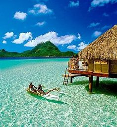 St. Regis Resort ~ Bora Bora we are gonna go here for sure Melissa.