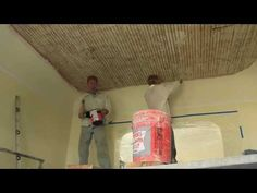 remove, strengthen interior ceiling re-apply the plaster overhead Plaster Ceiling Repair, Plaster Repair, Concrete Ceiling, Plaster Walls, Kitchen Floor Plans, Kitchen Flooring, Coastal Ceiling Fan, Loft Style, Cool House Designs