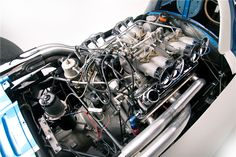 1960 CHEVROLET ENGINEERING RESEARCH VEHICLE (CERV) 1 - Engine. Photo Courtesy Barrett-Jackson