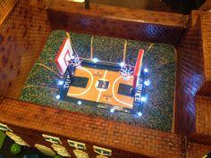 Duke Basketball Groom's Cake.