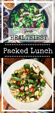 Your HEALTHIEST  low calorie Packed Lunch