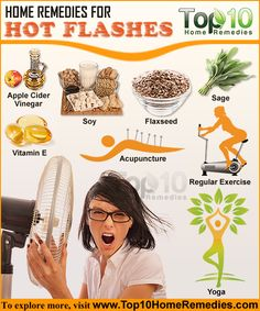 Home Remedies for Hot Flashes in Women