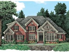 086H-0007: Traditional Luxury House Plan