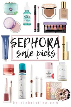 Sephora SALE picks! #sephorasale Beauty Tips For Women, Diy Beauty, Beauty Makeup, Beauty Hacks, Best Skincare Products, Makeup Products, Makeup Must Haves, Laneige, Makeup Swatches
