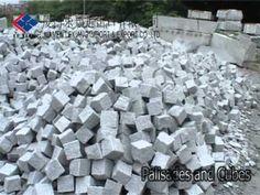 Granite palisade, granite cubes, palisade and cubes, garden cubes, stone palisade - Xiamen Lexiang Import & Export Co.,Ltd.