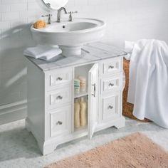 The Pedestal Sink Storage Cabinet Furniture Pinterest