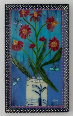 New to SissysFolkArt on Etsy: Ecinicia (325.00 USD)