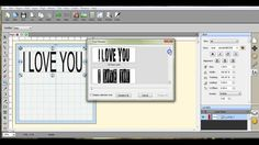 The font preview in SCAL4  Brother ScanNCut Jen Blausey