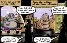 where Star Wars cribbed from Dune