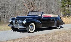 1941 Lincoln Continental convertible.