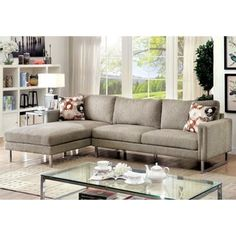 DHP Brent Futon Chaise | Small Space Solutions | Pinterest | Small ...