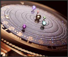 Van Cleef & Arpels - Midnight Planétarium timepiece Clock of dreams ! Van Cleef Arpels, Amazing Watches, Cool Watches, Men's Watches, Skeleton Watches, High Jewelry, Jewellery, Luxury Watches, Cool Stuff