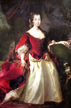 Louise Isabella of Portugal (1669-1690) - Portuguese Infanta, the only daughter of King Pedro II and his first wife Maria of Savoy.