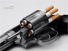This ad really drives the point home! Cigarettes are deadly & damaging to EVERYONE, not only smokers.