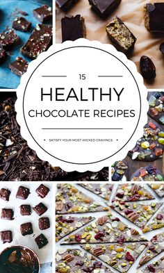 15 Healthy Chocolate Recipes to Satisfy Your Most Wicked Cravings