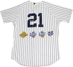 8a0db87d3 Paul O  Neill Signed New York Yankees Authentic Pinstripe Jersey with World  Series Patches (