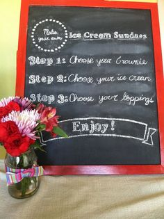 DIY chalkboard lettering- No artistic ability necessary!