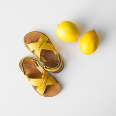 Leather sandals - Pom d'Api