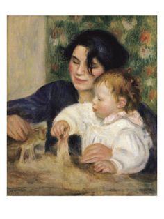 Gabrielle and Jean ~ by Pierre-Auguste Renoir