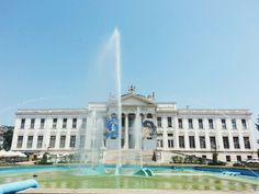 Móra Ferenc Múzeumitt:Szeged, Csongrád megye Budapest, Four Square, Louvre, Mansions, House Styles, Building, Travel, Hungary, Viajes