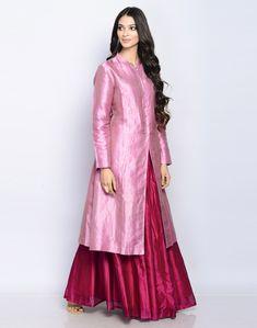 Exclusive Range Achkan Set Includes: Achkan, Skirt in Silk Cotton. Free Shipping Worldwide. Explore More!