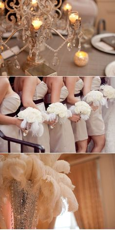 #wedding love feathers...