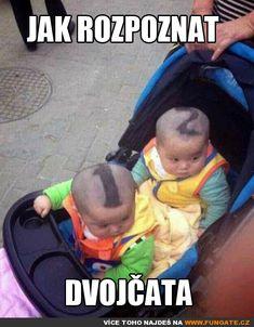 Jak rozpoznat dvojčata