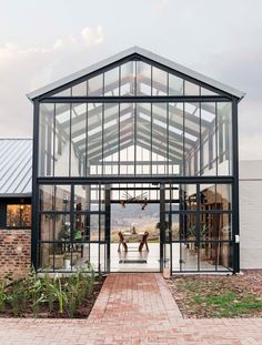 Barn-inspired Conservatory House is an off-grid escape on a Pretoria farm Design Loft, House Design, Design Design, Conservatory House, Greenhouse House, South African Homes, Architecture Design, Architecture Definition, Computer Architecture